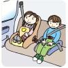 チャイルドシートは年齢で選ばない。